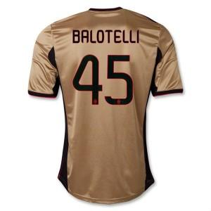 Camiseta del Balotelli AC Milan Tercera Equipacion 2013/2014
