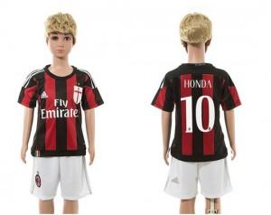Camiseta nueva del AC Milan 2015/2016 10 Ninos