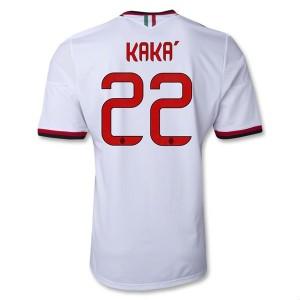 Camiseta del Kaka AC Milan Segunda Equipacion 2013/2014