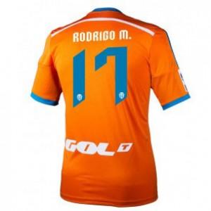 Camiseta de Valencia 2014/2015 Segunda Rodrigo Equipacion