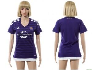 Camiseta nueva del Orlando City SC 2015/2016 Mujer