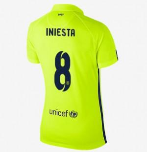 Camiseta nueva Barcelona Mujer Equipacion Tercera 2013/2014