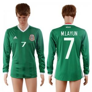 Camiseta nueva Mexico 7# 2016-2017