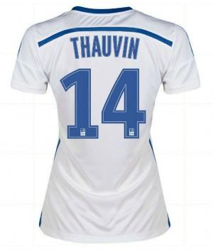 Camiseta nueva España de la Seleccion Xavi Primera 2013