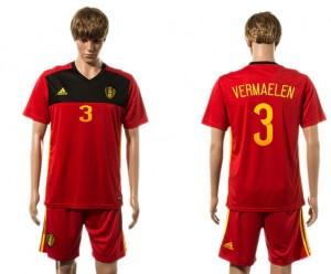 Camiseta nueva Belgium 3# 2015-2016