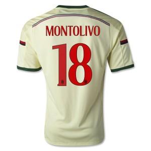 Camiseta de AC Milan 2014/2015 Tercera Montolivo Equipacion