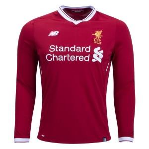 Camiseta del Liverpool Home Long Sleeve 2017/2018