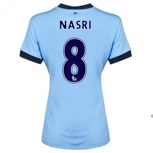 Camiseta de Manchester City 2014/2015 Segunda Dzeko