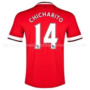 Camiseta del Chicharito Manchester United Primera 2014/2015