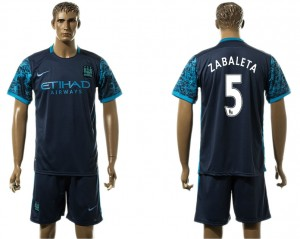 Camiseta del 5# Manchester City Away