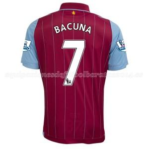 Camiseta Aston Villa Bacuna Primera Equipacion 2014/15