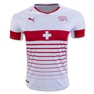 Camiseta Suiza de la Seleccion Primera 2016
