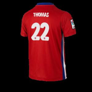 Camiseta nueva del Atletico Madrid 2015/2016 Equipacion THOMAS Primera
