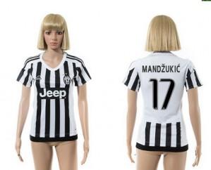 Mujer Camiseta del 17 Juventus 2015/2016