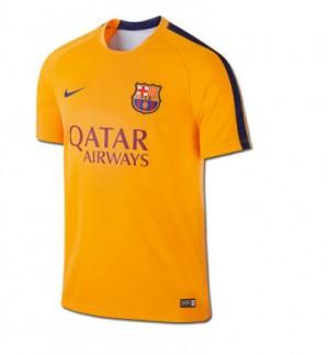 Camiseta nueva del FC Barcelona 2015/2016 Equipacion Segunda