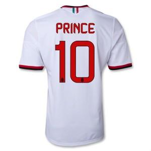 Camiseta nueva AC Milan Prince Equipacion Segunda 2013/2014