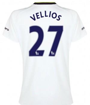 Camiseta del Lamela Tottenham Hotspur Segunda 2013/2014