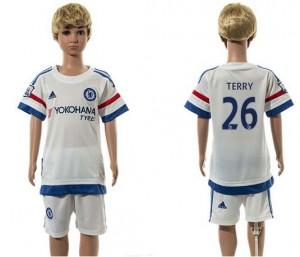Camiseta nueva del Chelsea 2015/2016 26 Ninos