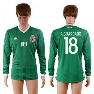 Camiseta del 18# Mexico 2016-2017