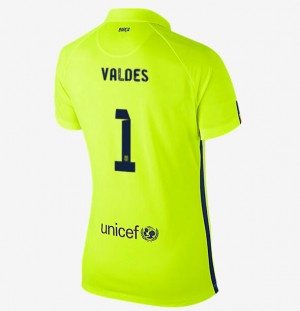 Camiseta Portero nueva Barcelona 2a 2013/2014