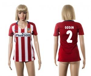 Camiseta de Atletico Madrid 2015/2016 2 Mujer