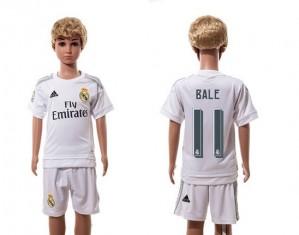 Camiseta nueva Real Madrid Ninos 11 Home 2015/2016