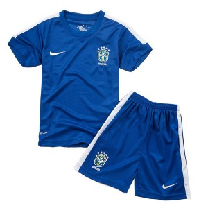 Camiseta de Brasil de la Seleccion 2013/2014 Segunda Nino