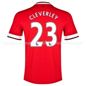 Camiseta Manchester United Cleverley Primera 2014/2015