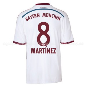 Camiseta nueva del Bayern Munich 2014/2015 Equipacion Martinez Segunda