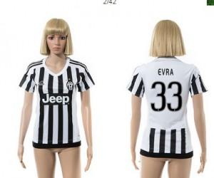 Camiseta Juventus 33 2015/2016 Mujer