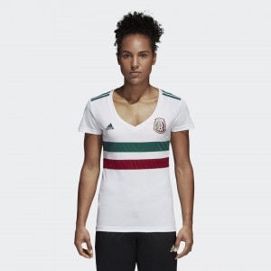 Camiseta nueva MEXICO Mujer Away 2018