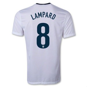 Camiseta del Lampard Inglaterra de la Seleccion Primera 2013/2014