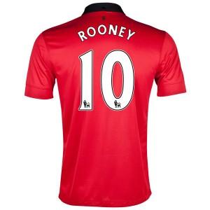 Camiseta nueva Inglaterra de la Seleccion Rooney Primera 2013/2014