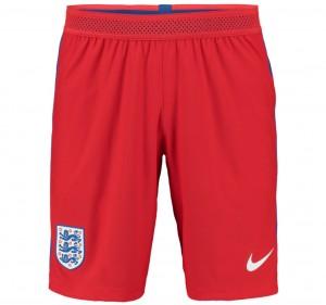 Shorts de Inglaterra 2016-2017 Lejos (Rojo)