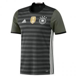 Camiseta nueva del Alemania 2016 Equipacion Segunda