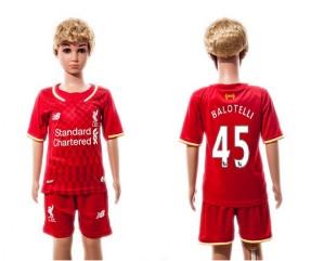 Camiseta nueva del Liverpool 2015/2016 45 Ninos