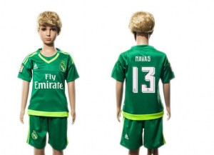 Camiseta de Real Madrid 2015/2016 13 Ninos