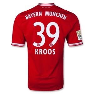 Camiseta nueva del Bayern Munich 2013/2014 Equipacion Kroos Primera