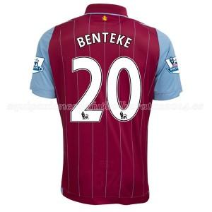 Camiseta nueva del Aston Villa 2014/15 Equipacion Benteke Primera