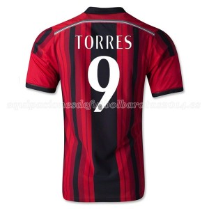 Camiseta nueva AC Milan Torres Equipacion Primera 2014/2015