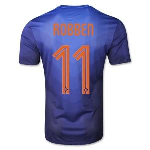 Camiseta nueva del Holanda de la Seleccion WC2014 Robben Segunda