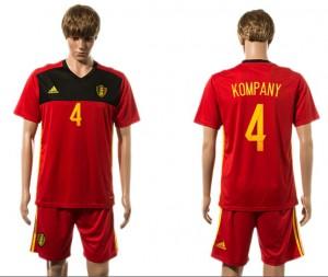 Camiseta de Belgium 2015-2016 4#
