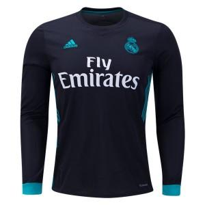 Camiseta nueva Real Madrid Long Sleeve Away 2017/2018
