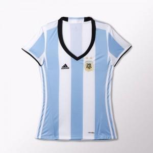 Camiseta nueva del Argentina 2016 Mujer Home