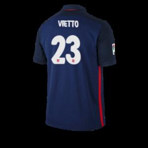 Camiseta nueva del Atletico Madrid 2015/2016 Equipacion VIETTO Segunda