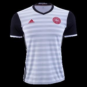 Camiseta de Dinamarca de la Seleccion 2015 Segunda