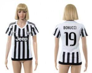 Camiseta de Juventus 2015/2016 19 Mujer