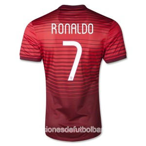 Camiseta nueva del Portugal de la Seleccion 2013/2014 Ronaldo Primera