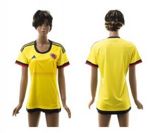 Camiseta nueva del Colombia 2015/2016 Mujer
