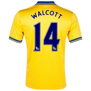 Camiseta de Inglaterra de la Seleccion 2013/2014 Segunda Walcott